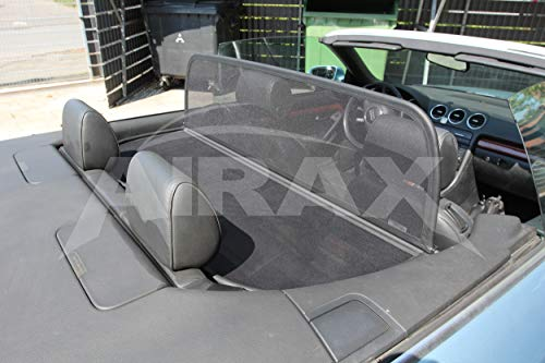 Airax Windschott geeignet für Audi A4 B6 B7 Typ 8H Windabweiser Windscherm Windstop Wind deflector Déflecteur de vent