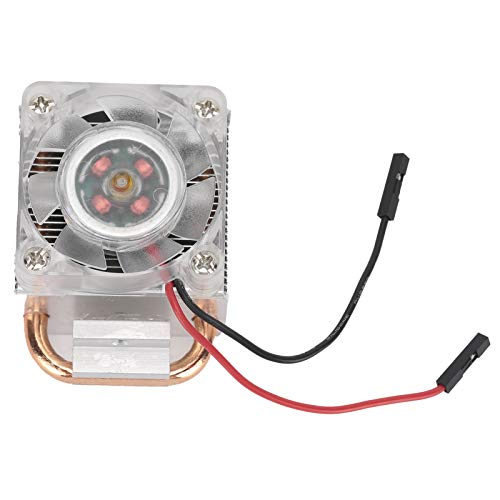 Hopcd CPU Cooling System Fan, 7‑Blade Ice Tower Heatsink with High Heat Conduction/Heat Dissipation Efficiency for Raspberry Pi 4/3B+/3B