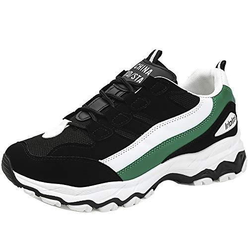 Geilisungren Schuhe Herren Turnschuhe Sneaker Mode Sportschuhe Outdoor Laufschuhe Freizeit Schnürschuhe Fitnessschuhe Trekking Hiking Traillaufschuhe für Männer