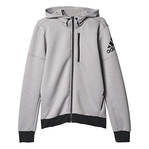 Adidas Daybreaker Veste Homme, Gris/Noir, FR (Taille Fabricant : XL/L)