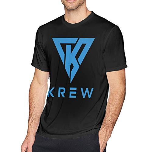 I_Tsfun_Neh- Herren T-Shirt - DIY Casual Kurzarm Bedruckte T-Shirts für Herren T-Shirts Tops