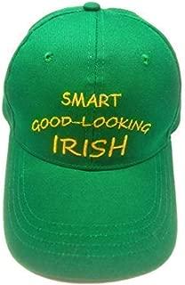 Green Baseball Cap Men Women - Classic Ireland Hat with Irish Slogan