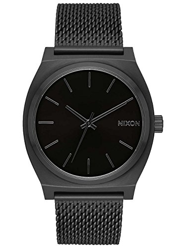 Nixon Time Teller Milanese -Fall 2017- All Black