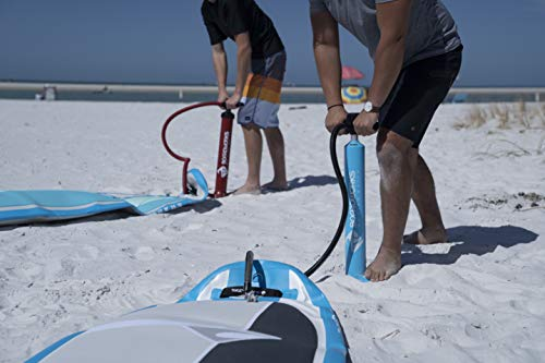 """Product Image 5: Boardworks SHUBU Flow All-Water Yoga Inflatable Stand-Up Paddle Board (iSUP) 