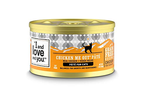 I And Love And You Chicken Me Out wet cat food