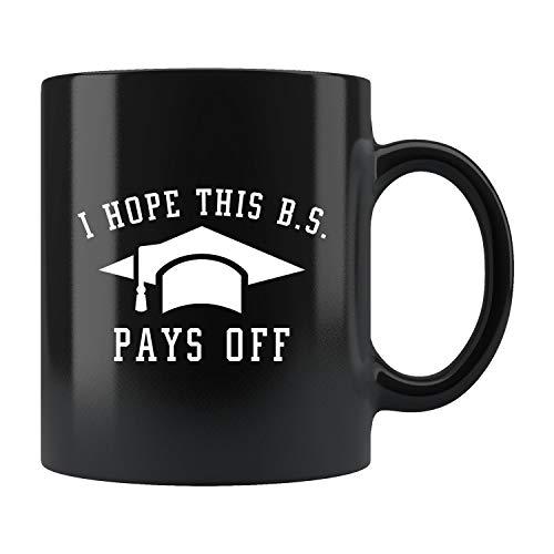Bachelors Degree Mug, Funny Grad Gift, Bachelor Degree Gift, Funny Bachelor Mug, Bs Graduation Gift, Bs Degree Mug B.a Graduation Gift
