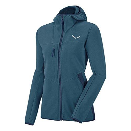 Salewa - Sportsweatshirts & Kapuzenpullover für Damen in Mallard Blue/8670, Größe DE 40 (IT 46)
