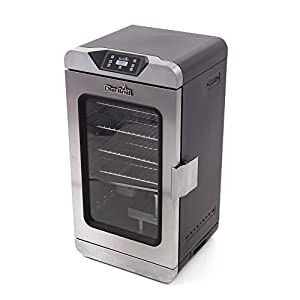 Char-Broil 17202004 Digital Electric Smoker, Deluxe, Silver made by  famous Char-Broil