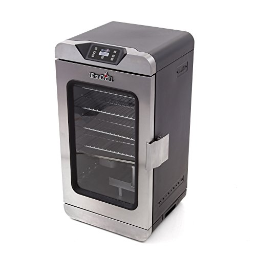 Char-Broil 17202004 Digital Electric Smoker, Deluxe, Silver