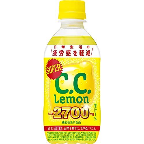 サントリー スーパーC.C.レモン 350ml×24本 [機能性表示食品]