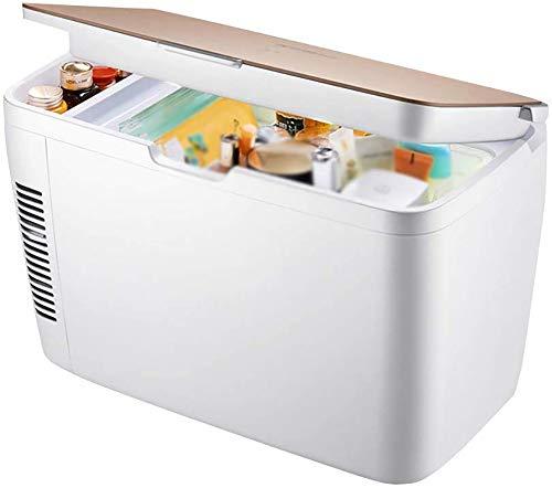 LIYT Mini portátil congelador de refrigerador con Bar, silencioso, 12L, compresor y...