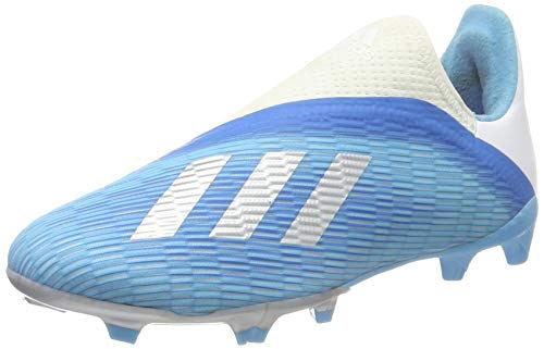 adidas X 19.3 LL FG J, Botas de Fútbol Niño, Multicolor Ciabri Plamet Rossho 000, 33 EU