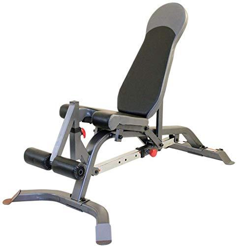 Hantelbank zu Hause sit-up Bord kommerziellen professionellen Fitness-Stuhl Multifunktionsbank Abkantpresse Vogel Bank Indoor-Fitness-Ausrüstung tragende 250KG ( Color : Black , Size : 160*90*110cm )