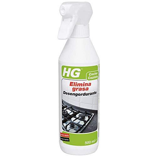 HG 128050130 Elimina 500 ml-Producto de Limpieza para Quitar la Grasa de Cualquier Superficie de la Cocina