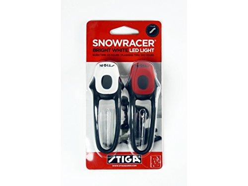 Stiga Lumière Snowracer (couleur : rouge et blanc).