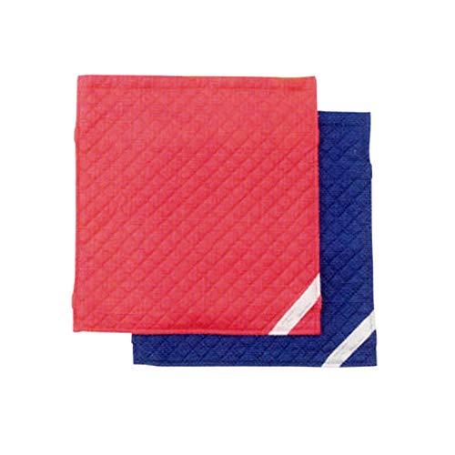 防災頭巾用シーチングカバー(座布団式) 単品 (ブルー)