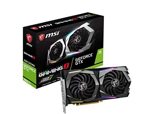 MSI GeForce GTX 1660 Ti Gaming X 6G - Tarjeta gráfica (6 GB, GDDR6, 192 bit, 7680 x 4320 Pixeles, PCI Express x 16 3.0)