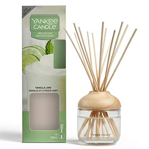 Yankee Candle - Diffusore di canne, 120 ml, fragranza fino a 10 settimane