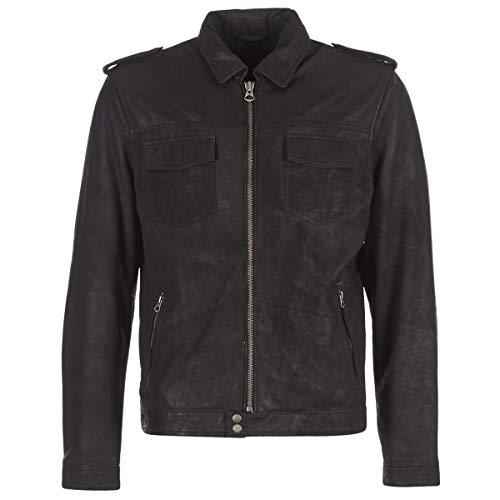 Pepe Jeans Narciso Jacken Herren Schwarz - M - Lederjacken/Kunstlederjacken Outerwear