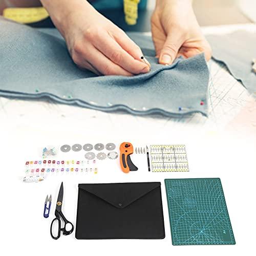 Alfombrilla de costura autocurativa, cuchillas giratorias de repuesto de doble cara multiusos, herramientas de artesanía de cuero para manualidades para coser tela