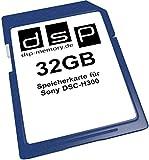 32GB Speicherkarte für Sony DSC-H300