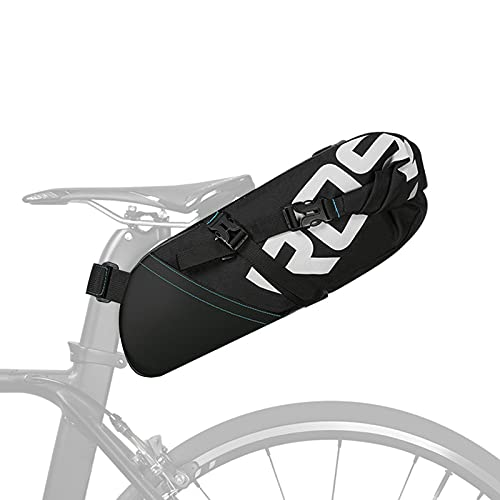 UBORSE Bolsa de Sillín para Bici Impermeable Bolso para Asiento Tresero de Bicicleta Alforjas de Tija Sillín Ligera para Ciclismo MTB Carretera Mountain Bike