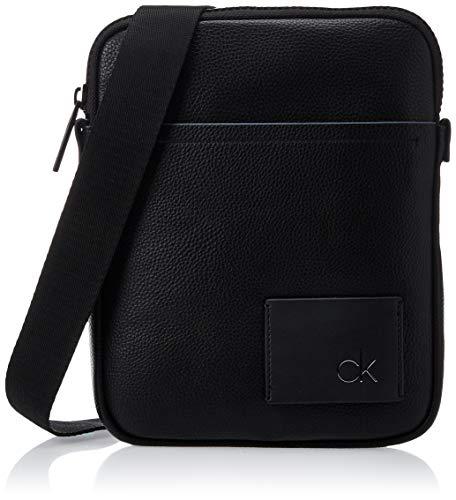 Calvin Klein Herren Ck Direct Flat Crossover Taschenorganizer, Schwarz (Black), 3x36x20 cm
