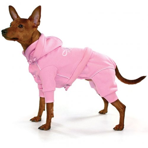 THEO Jogging/Overall Chien Rose, Taille XS de