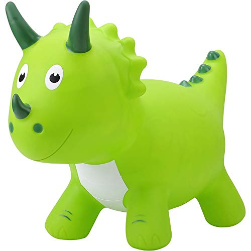 SXNYLY Rocking Horse Kids Inflatable Jumping Horse Riding Baby Thick Environmentally Friendly Pump Funny Riding Toys Children Birthday Gifts