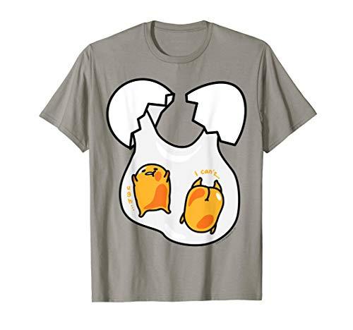 Gudetama Cute Double Yolk T-Shirt