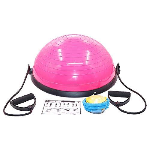 TAOBEGJ Hemisferio de Yoga, Bola de Yoga Especial, hemisferio de Equilibrio, Pelota de Velocidad de Onda de Fitness de Pilates,Blue