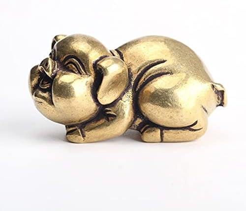 Miniature Copper Decor Collect Limited price sale Popular popular Crafts Pig Miniatur
