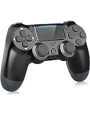Mando PS4, Controlador inalámbrico Gamepad Joystick para Playstation 4 / Pro/Slim/PC, Controlador de Panel táctil con vibración Dual de Seis Ejes y Conector de Audio