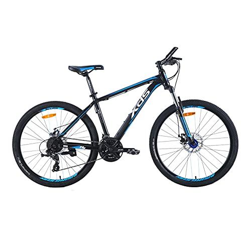 Bicicleta, Bicicleta de Montaña de 26 Pulgadas, Bicicleta Todoterreno de 24 Velocidades, Marco de AleacióN de Aluminio Ultraligero, Para Adultos Y Adolescentes, Freno de Disco Doble/B / 1