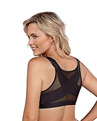 Full figure bras with back support