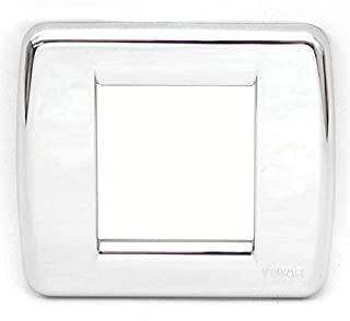 Vimar Boat Switch Cover Plate 17098.36.01 | Sea Ray Idea Silver
