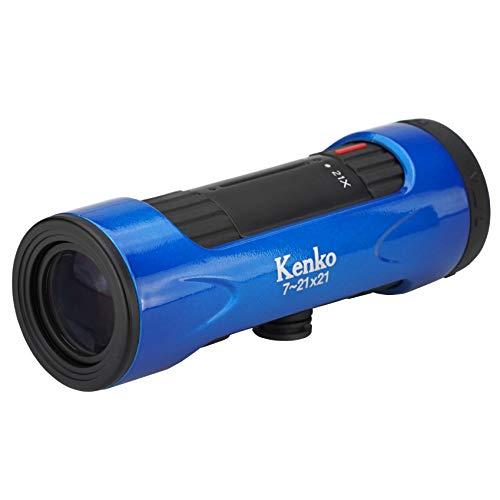 Kenko 単眼鏡 ウルトラビューI 7~21×21 7~21倍 21mm口径 ズーム式 ブルー 429051