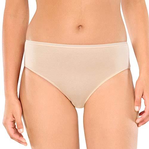 Schiesser Damen-Hüftslip Cotton Essentials 3er-Pack Haut Größe 46