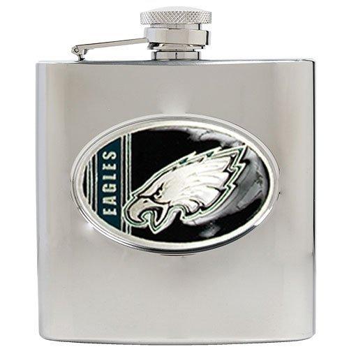 Philadelphia Eagles NFL 2pc Rocks Glass Set - Helmet logo