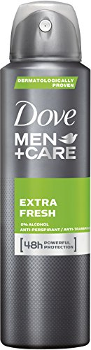 Dove Men+Care Deospray Extra Fresh Anti-Transpirant, 6er Pack (6x 150 ml)