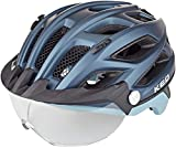 KED Covis Lite Helm Nightblue lightblue matt Kopfumfang L | 55-61cm 2020 Fahrradhelm