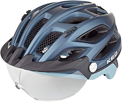 KED Covis Lite Helm Nightblue lightblue matt Kopfumfang L | 55-61cm 2021 Fahrradhelm