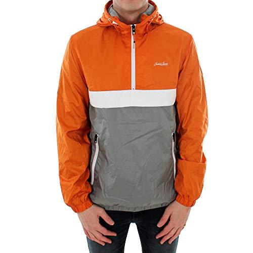 Cazadora JACK&JONES Hombre XS Naranja 12184356 JJHUNTER Light Anorak Jacket