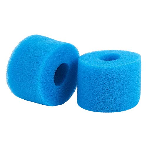 VANOLU Pure Spa - Cartucho de filtro de espuma lavable para bañera de hidromasaje tipo S1