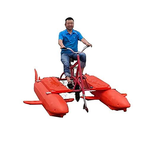 HXXXIN Bicicleta Acuática Kayak Inflable En El Lago Deportes Acuáticos Excursión Kayak Mar Pedal Ciclismo Diversión Pesca Pedal De Agua Único Vehículo Recreativo De Agua Única