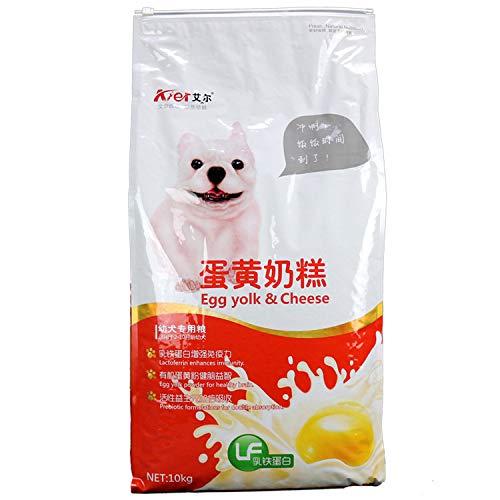 SULESI Eigelb Milchkuchen 10Kg Golden Retriever Husky Bibimbere Pomeranian Puppies Hundefutter Großhandel