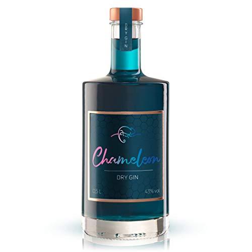Chameleon Premium GIN Dry Gin mit Farbwechsel 0,5l 43% vol.