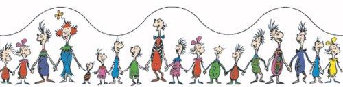 the whos Eureka Dr. Seuss Whoville Whos Deco Trim