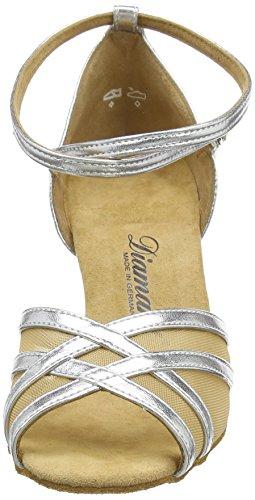 Diamant Diamant Latein 035-087-013 Damen Tanzschuhe – Standard & Latein, Damen Tanzschuhe – Standard & Latein, Silber (Silber), 39 1/3 EU (6 Damen UK) - 2