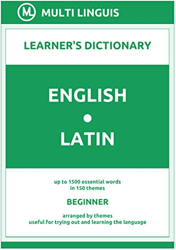 English-Latin (the Theme-Arranged Learner's Dictionary, Step...